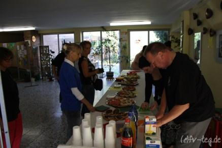 Die Eltern der letzten Erstklässler organisierten mit unserer Unterstützung wieder das Catering für die ABC-Schützen!