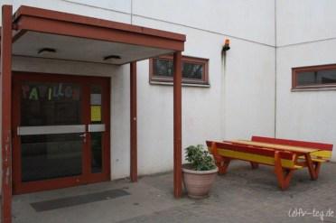 Eingang zum Pavillon