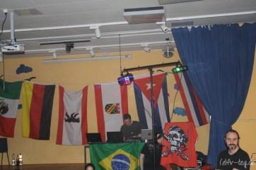 Unser DJ berieselte uns mit guter Musik, während unsere Lichtanlagen für das perfekte Discofeeling sorgten!