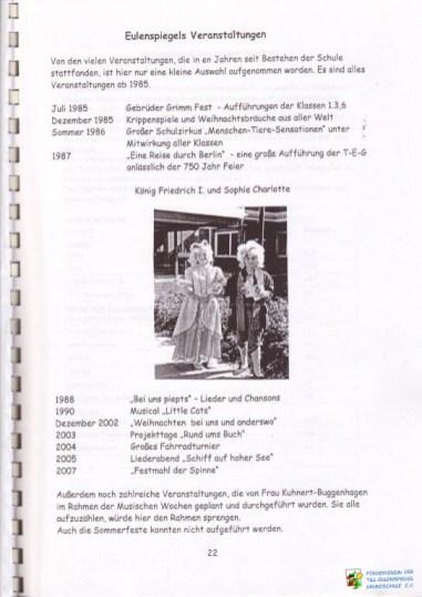 FV TEG Festschrift 40 Jahre TEG 26 WZ