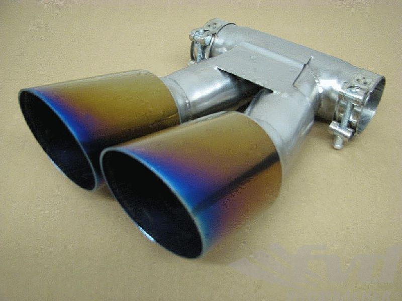 dual exhaust tips 987 2 boxster s