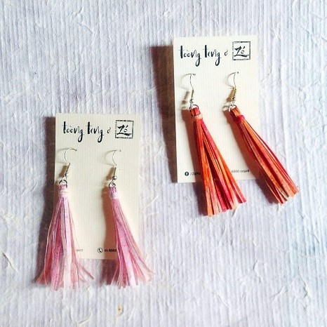 do paper earrings