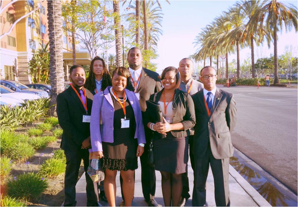 FVSU students attend national engineering conference in California