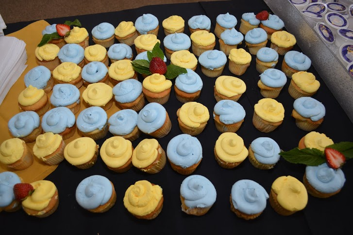 Cupcakes at 120th Anniversary for FVSU.