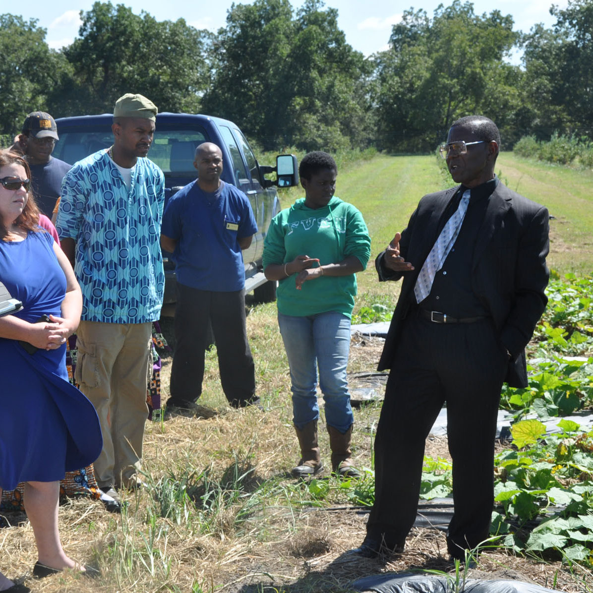 Training promotes chemical free crop growing methods
