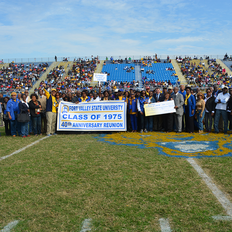 Fort Valley State University Class of 1975 celebrates 40th Anniversary with scholarship donation