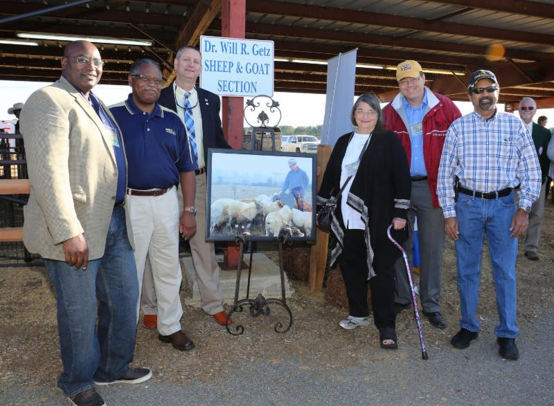 FVSU professor honored at largest agricultural exposition in US