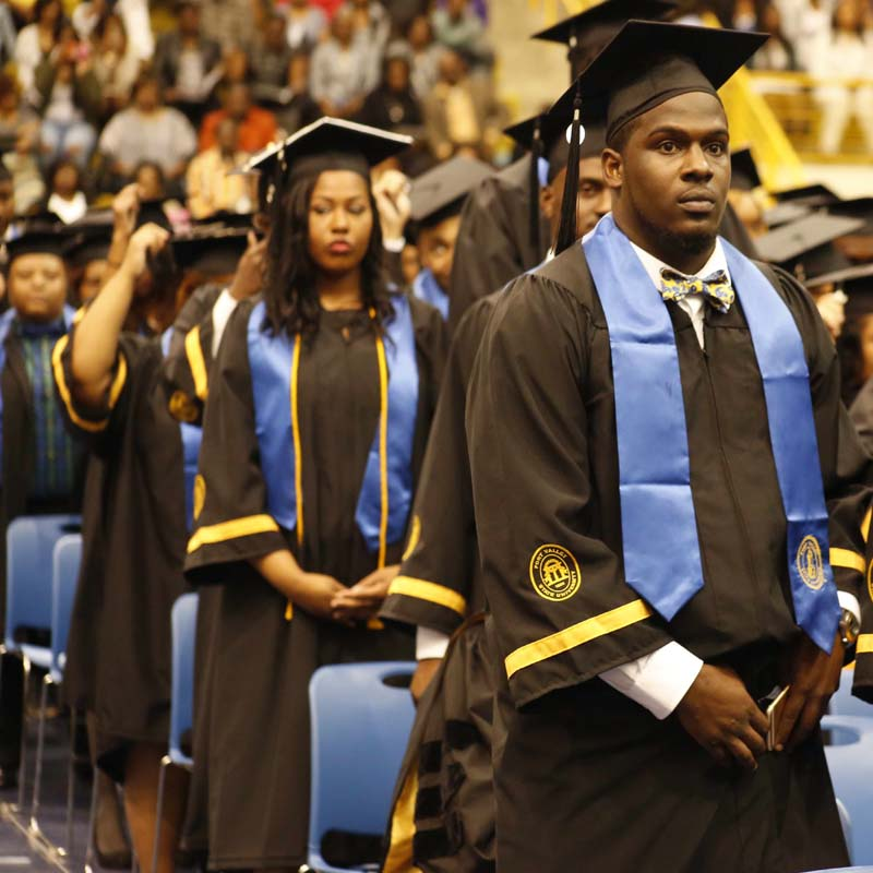 FVSU graduates shine at 2015 commencement