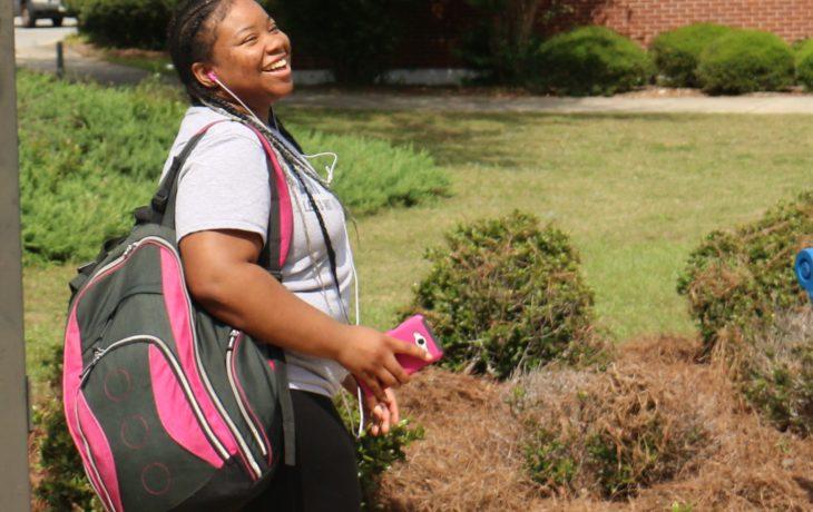 FVSU Student smiling