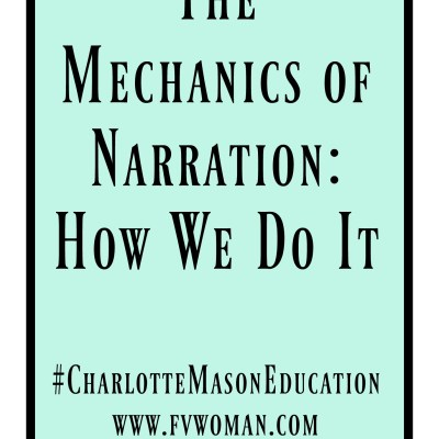 The Mechanics of Narration and How We Do It