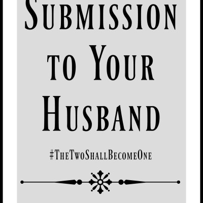 Submission to Your Husband