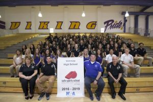 Valencia High School awarded the NATA Safe Sports School