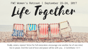 Women's Retreat:  Life Together @ Beach House! | Oceanside | California | United States