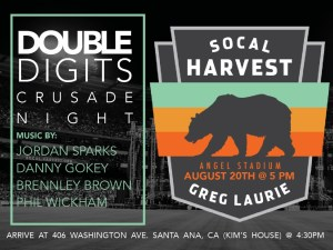 Double Digits - Harvest Crusade Night @ Kim & Tim's House | Santa Ana | California | United States