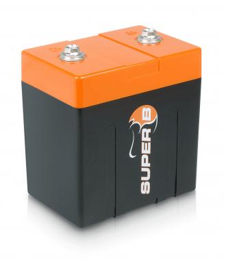 Super B Lithium batteries SB12V10P-DC