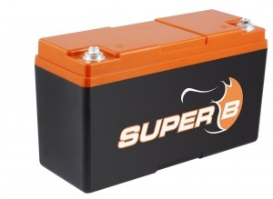Super B Lithium batteries SB12V25P-SC