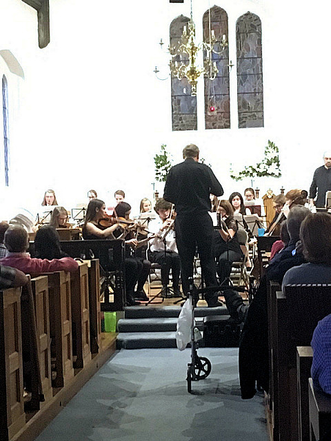 The Colne Valley Youth Orchestra