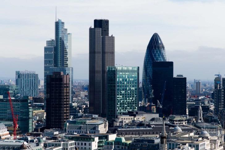 世界最高の金融街シティ