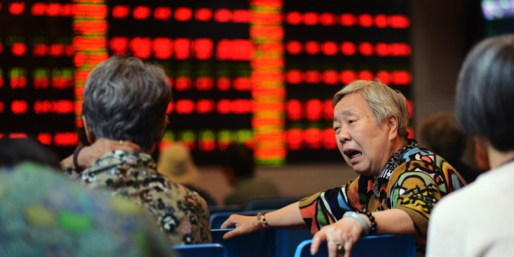 CHINA-ECONOMY-MARKET-STOCKS