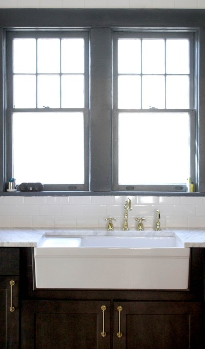 Vintage Modern Style for a Downtown Kitchen and Bathroom