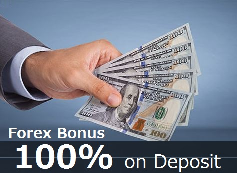 The Best 100% Deposit Bonuses by Forex brokers