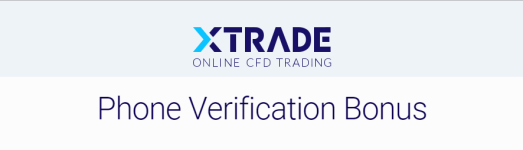 XTrade-Phone-Verification-no-deposit-Bonus