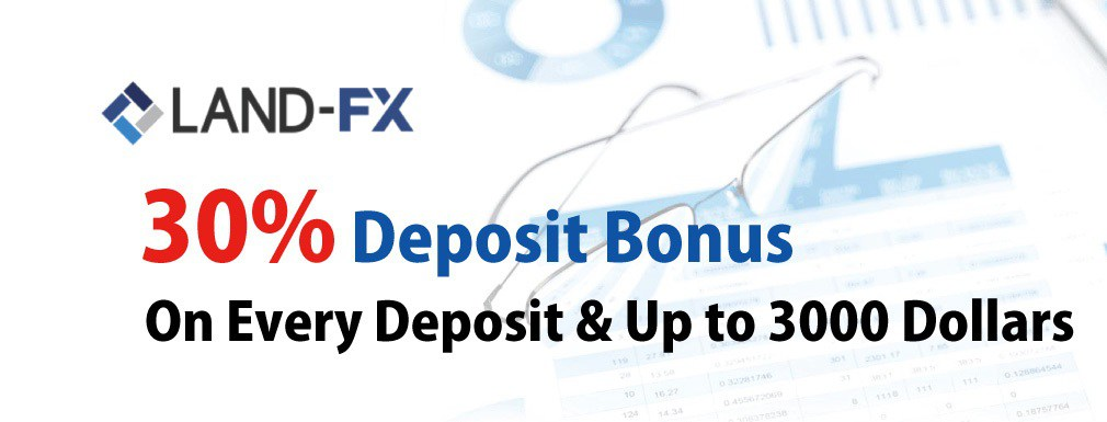 Land-FX 30% Deposit Bonus on every deposit