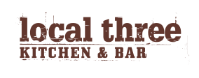 Local Three Kitchen Bar Logo
