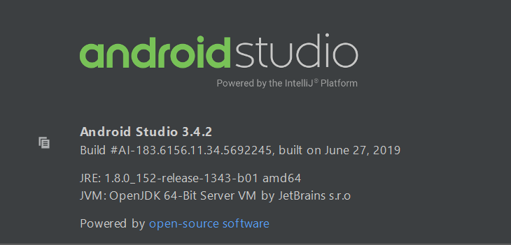[ICT] Android Studio 3.4.2 更新導入