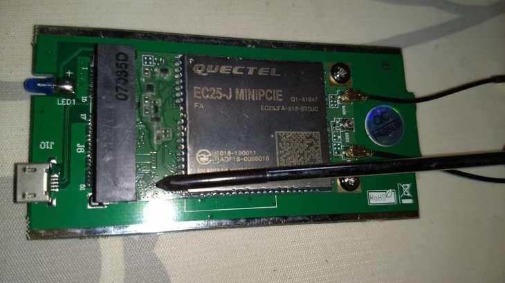 EC25-J_MiniPCIe
