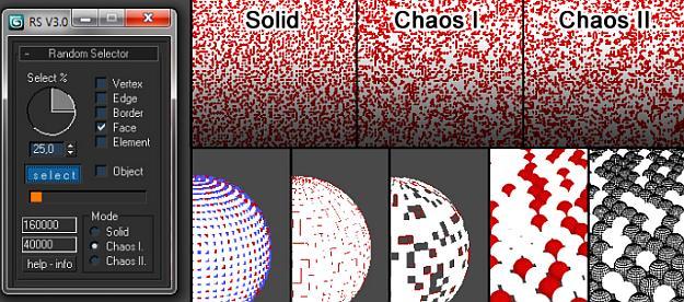 3D Max Random Selector script | Fxfx net ::: Digital Art Tips & Tricks