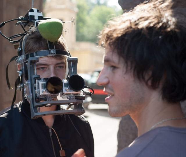 The Head Rig Mask Worn To Capture The Pov Action In Hardcore Henry