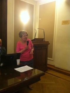 Dr. Katherine Alexander . President of ELCCR
