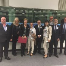 different European associations claiming justice in the European committee for banking consumers