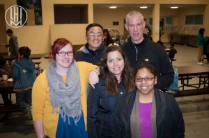 Us with Jerry the evening before we left (left to right: Me, Miguel, Cecy, Jerry, Ruth)
