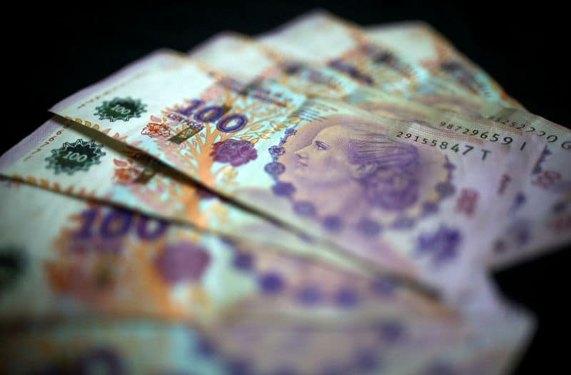 Nearing zero Argentine FX reserves