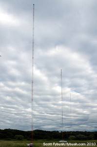 WCKL's towers
