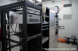 WBHQ's transmitter