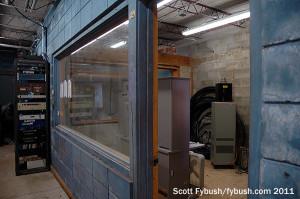 Old WAPE newsroom