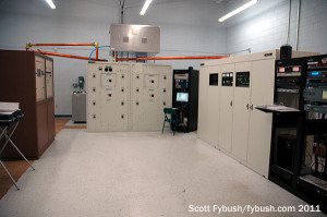 The WDYZ 990 transmitter room