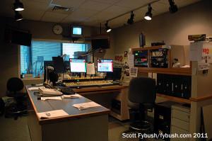 The WWKA 92.3 studio