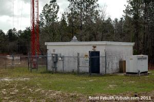 WTRS's transmitter building