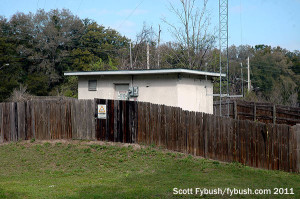 WOCA's transmitter building