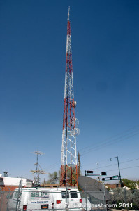 KANW's STL tower