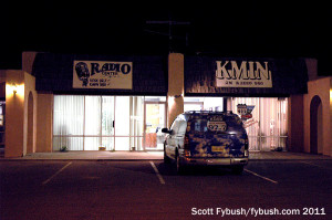 KMIN/KDSK at night