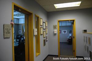 KKOB's studio pod