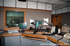 KNML's studio