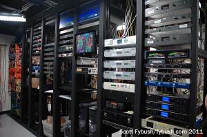 KDKA's rack room