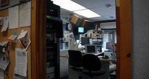 WCKM's studio