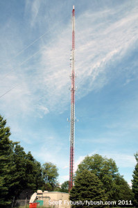 The WTIU/WFIU tower